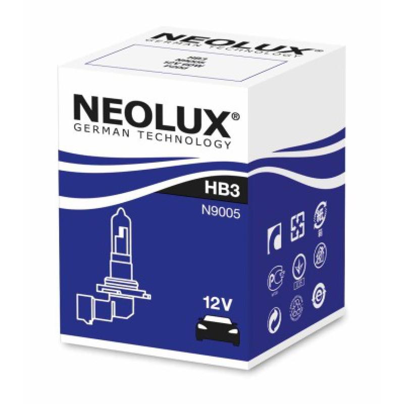 Автолампа Neolux HB3 Standart (12V 60W P20d)