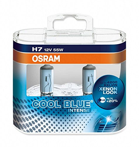 Комплект ламп OSRAM H7 COOL BLUE INTENSE 20% (12V 55W PX26D)