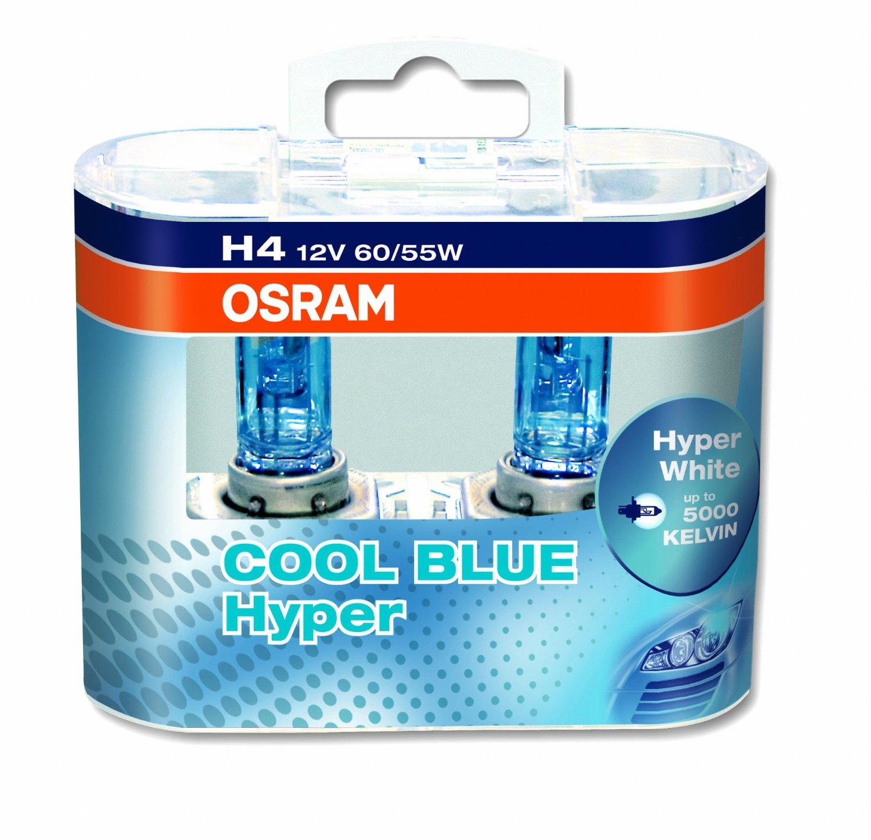 Комплект ламп OSRAM  H3 COOL BLUE HYPER (12V 55W PK22S)