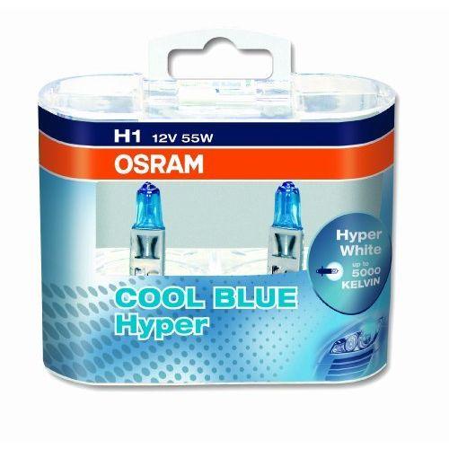 Комплект ламп OSRAM H1 COOL BLUE HYPER (12V 55W P14.5S)