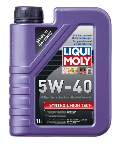 LIQUI MOLY Synthoil  High Tech 5W-40 HD, 1L