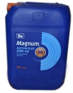 Масло моторное полусинтетическое ТНК Magnum Motor Plus 10W40 20л