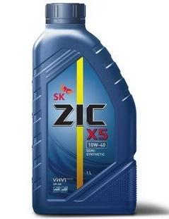 Масло моторное Полусинтетическое 1л - ZIC X5 DIESEL 10W40