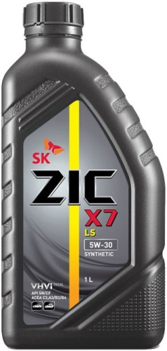 Масло моторное Синтетическое 1л - ZIC X7 LS 5W30