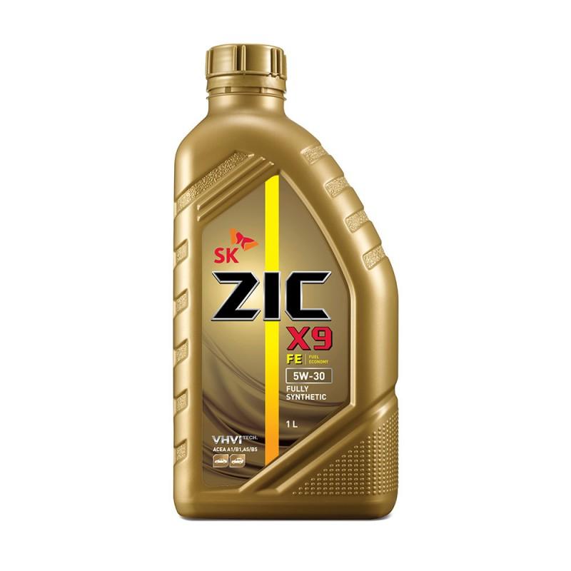 Масло моторное Синтетическое 1л - ZIC X9 FE 5W30