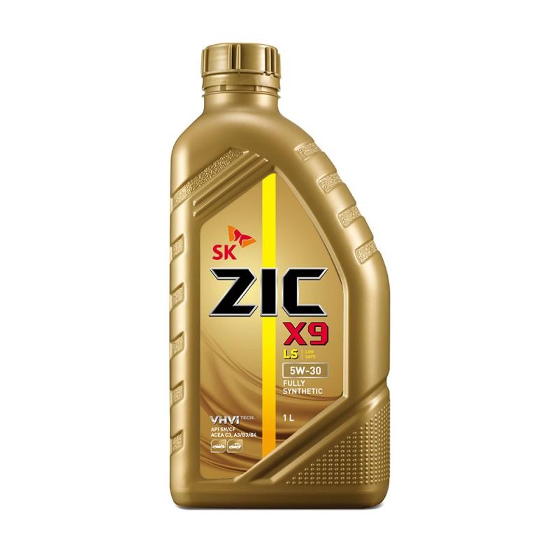 Масло моторное Синтетическое 1л - ZIC X9 LS 5W30