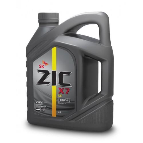 Масло моторное Синтетическое 4л - ZIC X7 LS 10W40