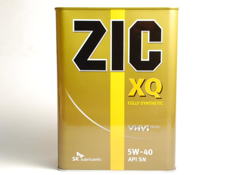 Масло моторное Синтетическое 4л - ZIC XQ 5W40
