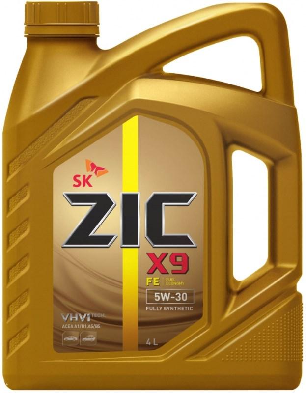 Масло моторное Синтетическое 4л - ZIC X9 FE 5W30