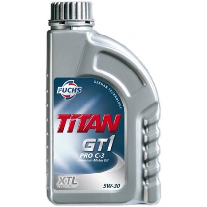 Масло моторное Синтетическое 1л - FUCHS TITAN GT1 PRO C-3 5W30