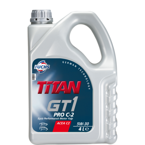 Масло моторное Синтетическое 4л - FUCHS TITAN GT1 PRO C-2 5W30