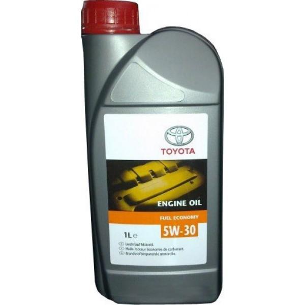 Масло моторное Синтетическое 1л - TOYOTA 5W30 Fuel Economy