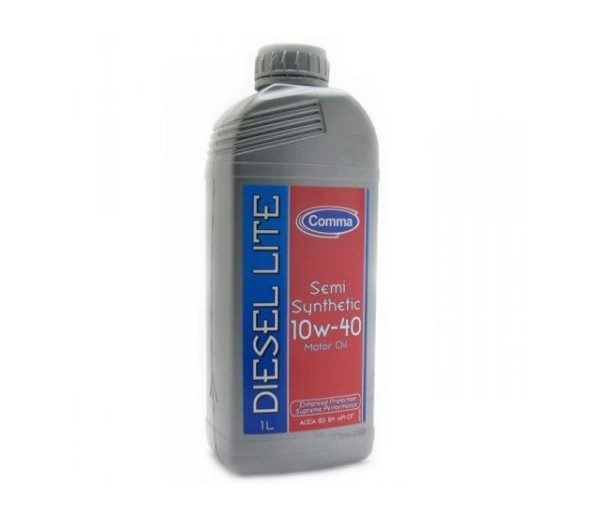 Масло моторное Полусинтетическое 1л - COMMA 10W40 DIESEL LITE