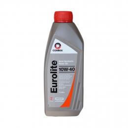 Масло моторное Полусинтетическое 2л - COMMA 10W40 EUROLITE