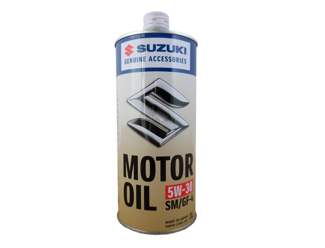 Масло моторное синтетическое SUZUKI API SM 5W30 1л