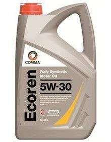 Масло моторное Синтетическое 5л - COMMA 5W30 ECOREN
