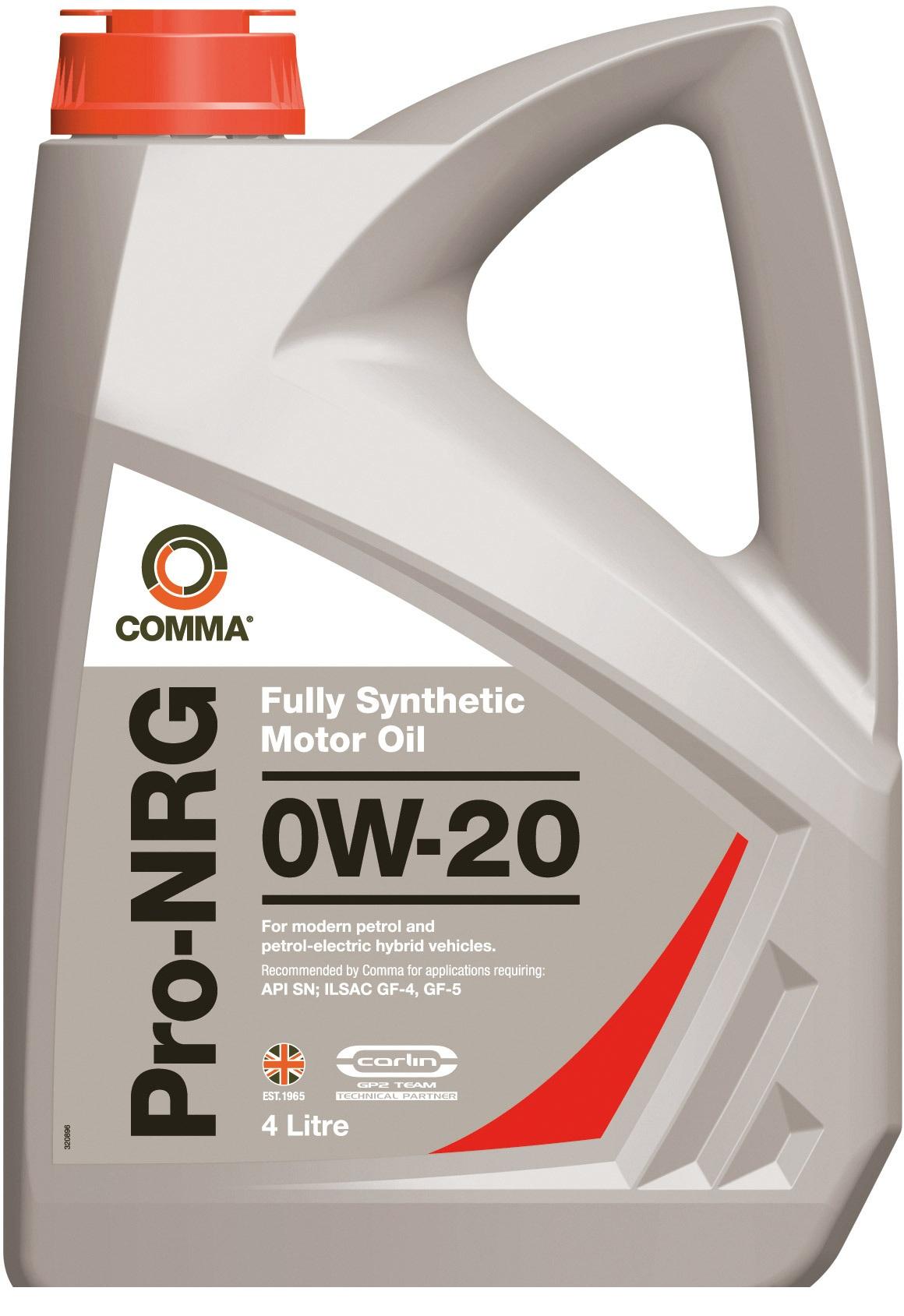 Масло моторное Синтетическое 4л - COMMA 5W30 PROLIFE