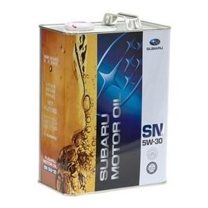 Масло моторное синтетическое SUBARU СF/SN, GF-5 5W30 4л