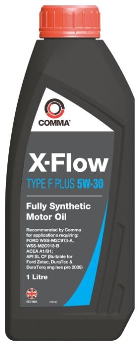 Масло моторное Синтетическое 1л - COMMA 5W30 X-FLOW TYPE F PLUS