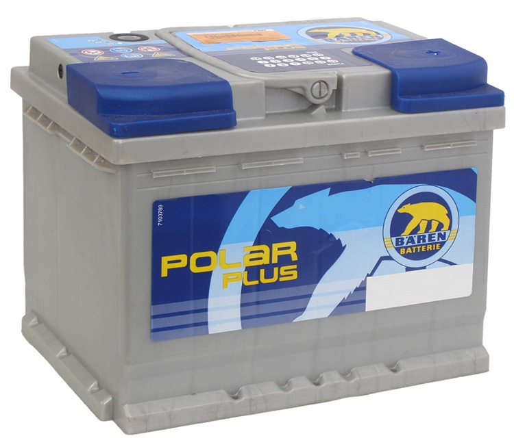 BAREN POLAR PLUS 60 Ah 600 A