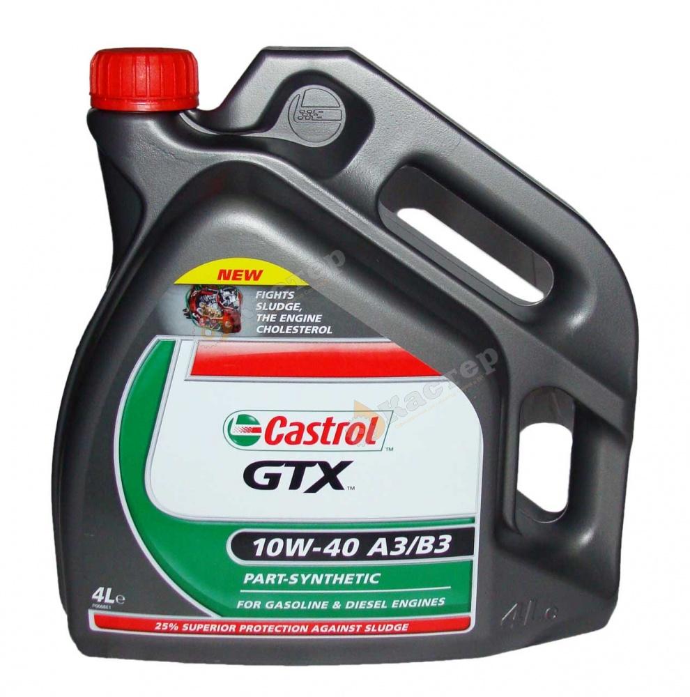 CASTROL GTX 10W-40 A3/B3 4l