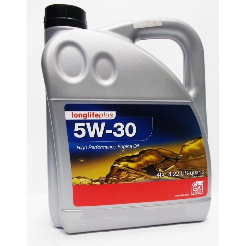 FEBI 5W-30 LLPLUS 4L [ACEA A3/B4-04/C3/MB 229.51/VW 504.00/507.00/BMW LONGLIFE-04]