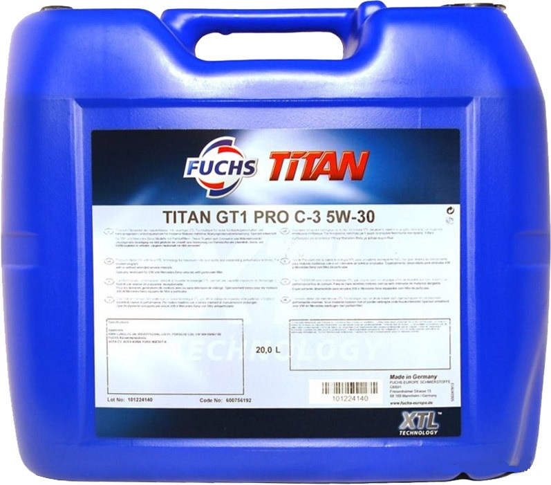 Titan GT1 Pro C-3 5W-30 20л