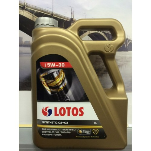 LOTOS SYNTHETIC C2+C3 SAE 5W-30 5L
