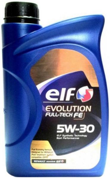 Масло моторное Синтетическое - ELF 5W30 EVOLUTION FULL-TECH FE (2L) 2л