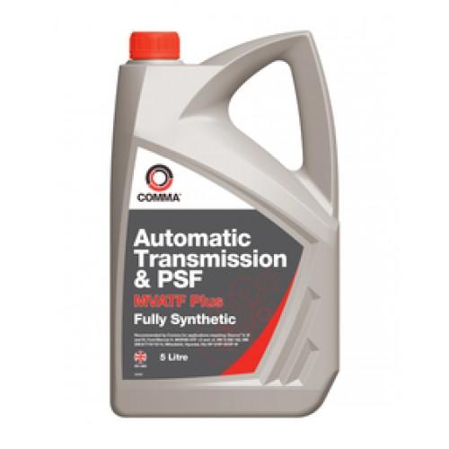 COMMA ATF 5L Полностью синтетическое масло для автоматических коробок передач и гидроусилителя руля.