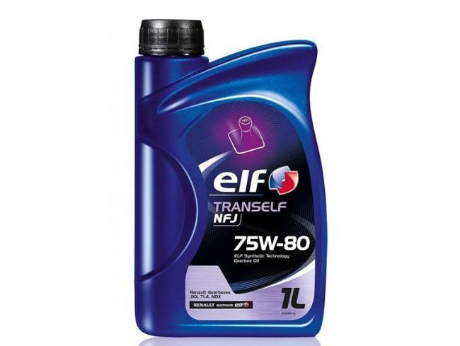 ELF TRANSELF NFJ 75W80 (1L) масло трансмиссионное! API GL-4+