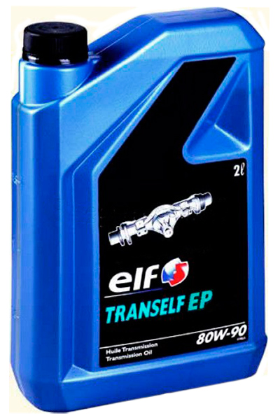 ELF 80W90 TRANSELF EP 2L МАСЛО ТРАНСМИССИОННОЕ API GL-4; ДЛЯ МКПП И СРЕДНЕНАГРУЖЕННЫХ МОСТОВ