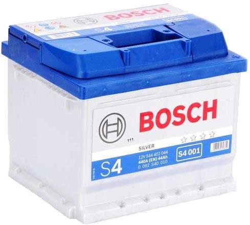 Аккумулятор BOSCH S4 12V 44AH 440A ETN 0(R+) B13