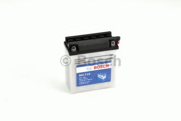 BOSCH Аккумулятор для мототехники BOSCH MOBA FP M4F 12V 5AH 30A (12N5-3B/YB5L-B) 121x61x131mm 2.11kg