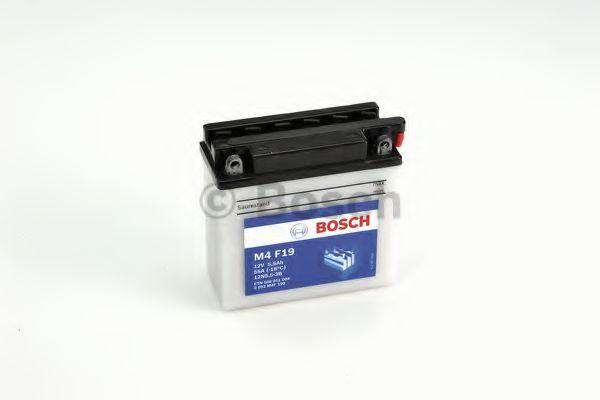 BOSCH Аккумулятор для мототехники BOSCH MOBA FP M4F 12V 6AH 40A (12N5.5-3B) 136x61x131mm 2.39kg
