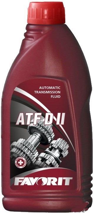 FAVORIT ATF D II 1L трансмиссионное масло