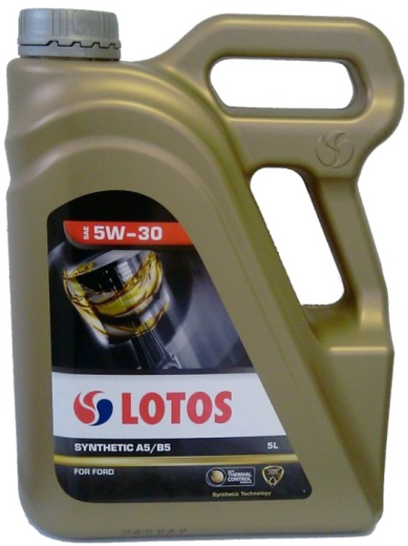 LOTOS SYNTHETIC A5/B5 SAE 5W-30 5L