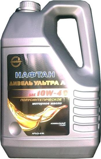 Масло моторное полусинтетическое - Нафтан Дизель Ультра Л 10W-40 1л