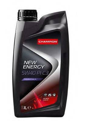 Масло моторное синтетическое - Champion New Energy PI C3 5W-40 1л