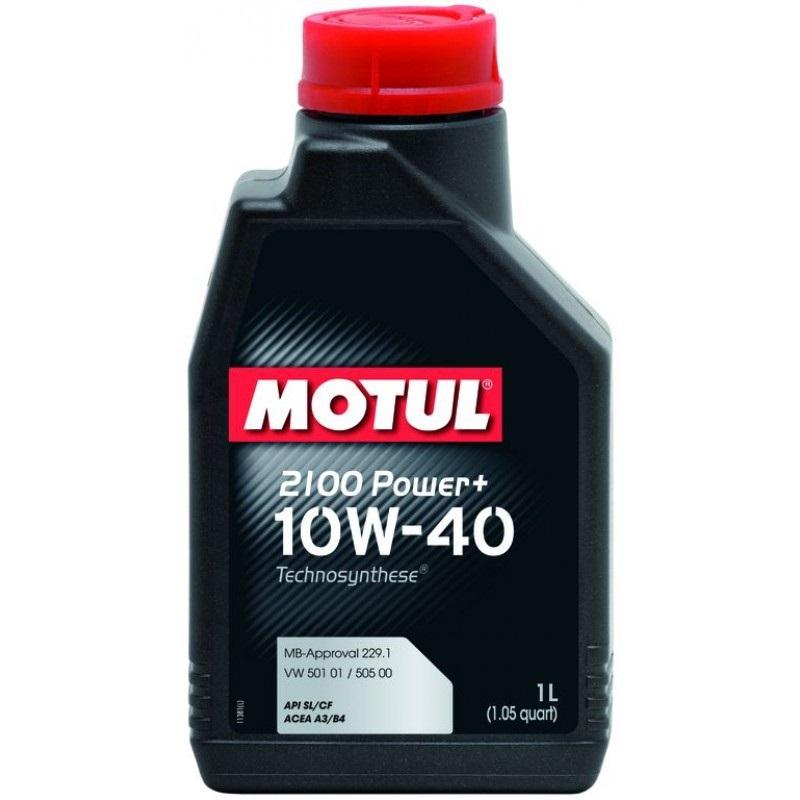 Масло моторное полусинтетическое - MOTUL 2100 POWER+ 10W-40 1л